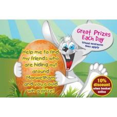 Easter Bunny Hunt Ticket