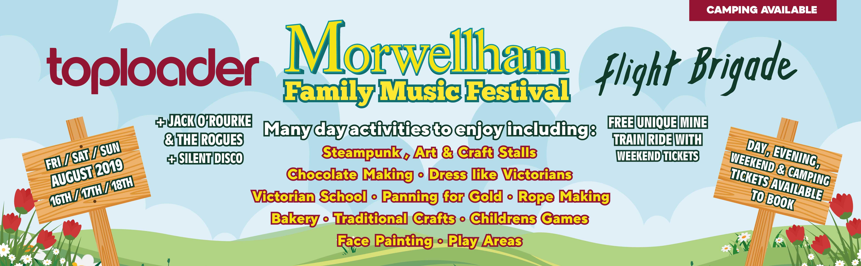 Toploader - Morwellham Event