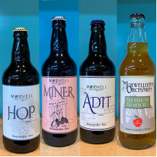 Morwell craft ales and cider 12 bottle mixed case